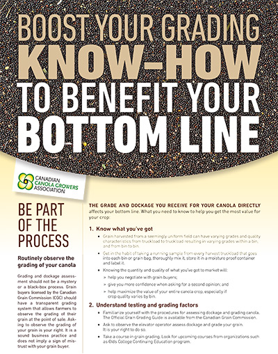 Boost Your Grading Know-How to Benefit Your Bottom Line handout pdf