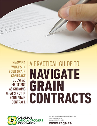 A Practical Guide to Navigate Grain Contracts handout pdf